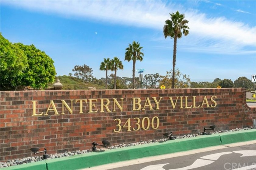 Prestigious Lantern Bay Villas in the heart of Dana Point's Lantern Village