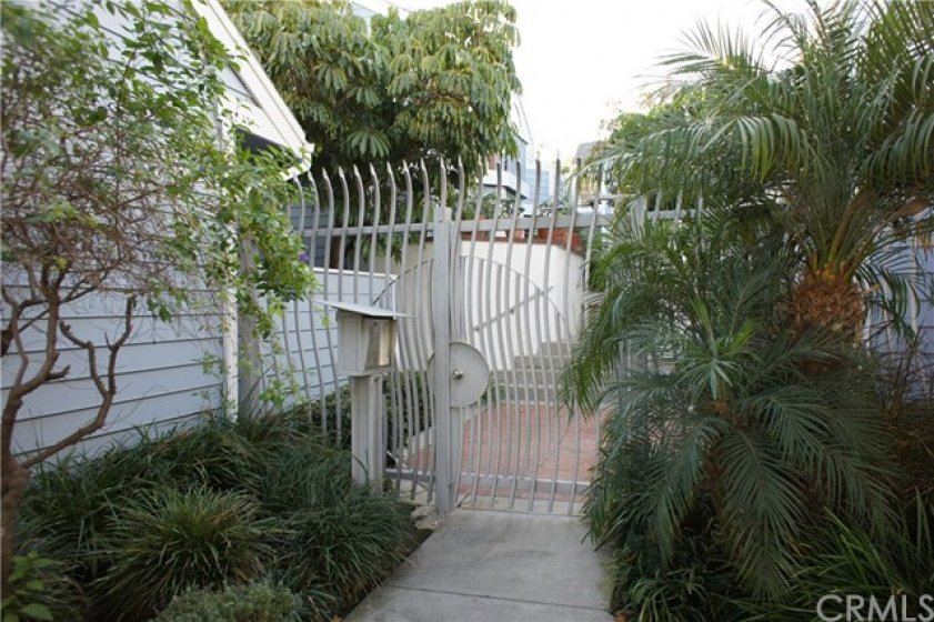 Gated entry with Call Box.