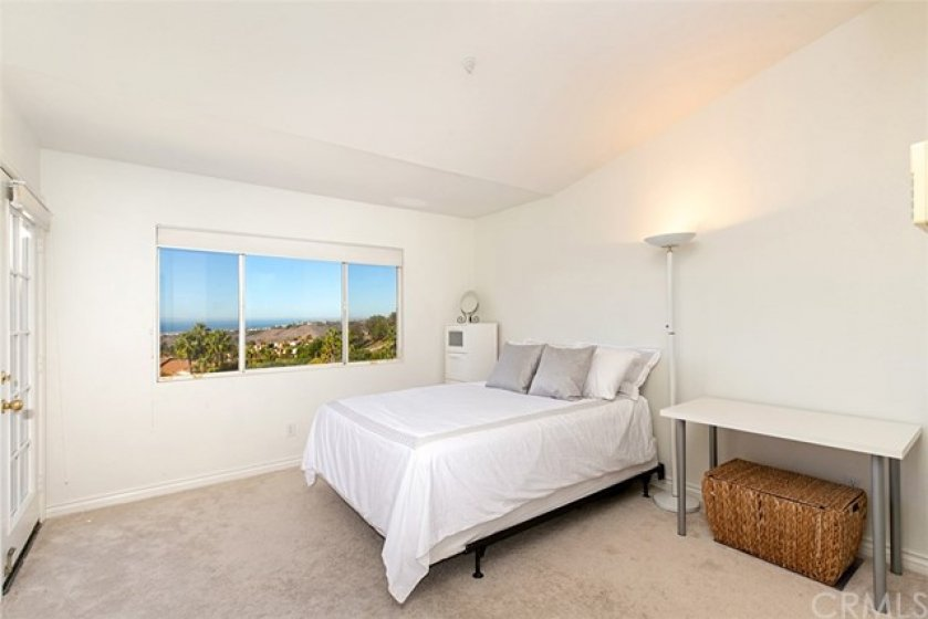 Master Bedroom w/ ocean view