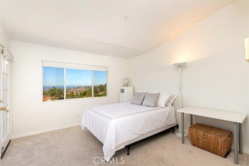 Master Bedroom w/ ocean view