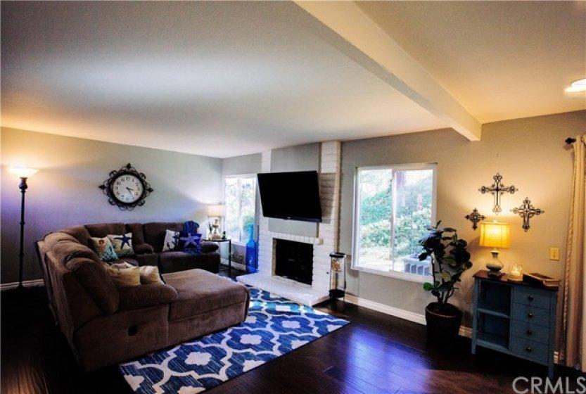 Cozy livingroom.