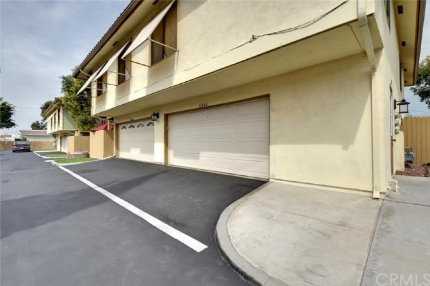 2 car garage, with space to park in front