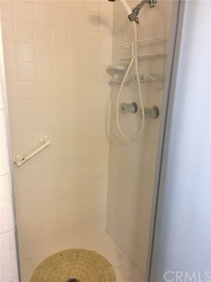Walk in guest shower