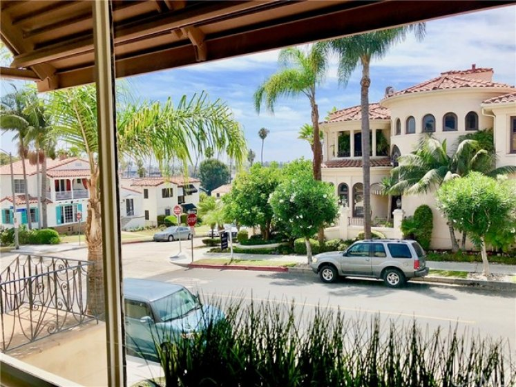 Ocean/Palm tree tip view; with picturesque views of HIGH-END Multimillion dollar homes.  Value? Value? I think SOOOOOOOO!!!!!!
