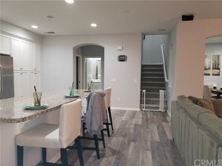 Now you can see all the pantry cabinets!  This home is light, bright, has loads of windows and coverings, recessed lighting, LVP flooring - lives very large and comfortably!