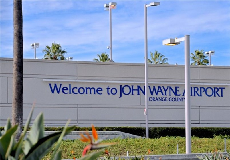 Nearby John Wayne Airport