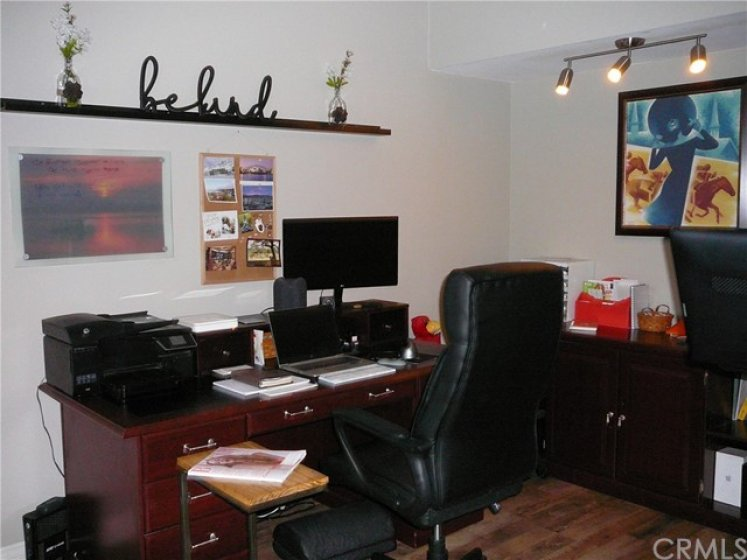 Office, Den or exercise area off of master bedroom.