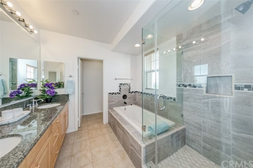 Newer Marble Master shower and tub.