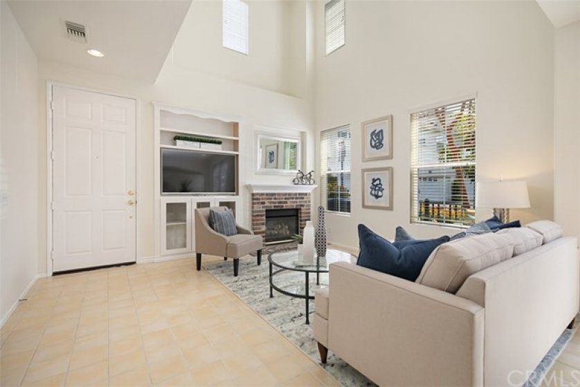 High ceilings, plenty of windows brings in a ton of natural light.