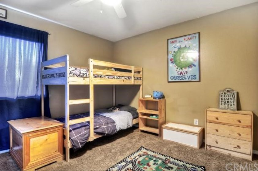 This secondary bedroom offers the space your family will enjoy