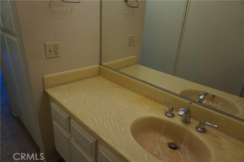 Bathroom #1 in master bedroom