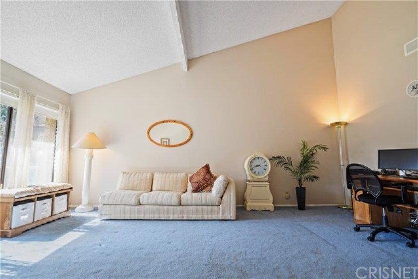 Huge Living Room w/Vaulted Ceilings & Abundance of Natural Light