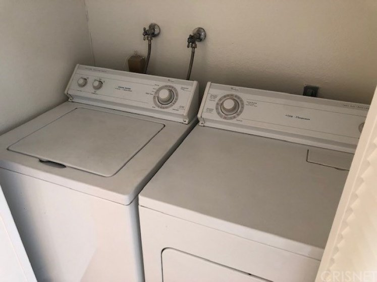 Inside Laundry, Washer and Dryer included