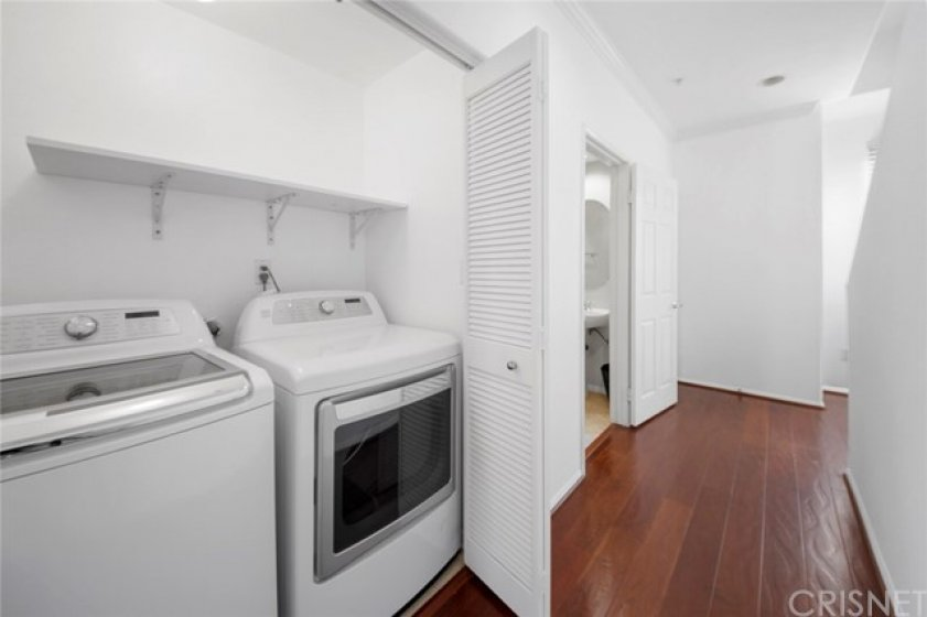 Washer and dryer on main floor included