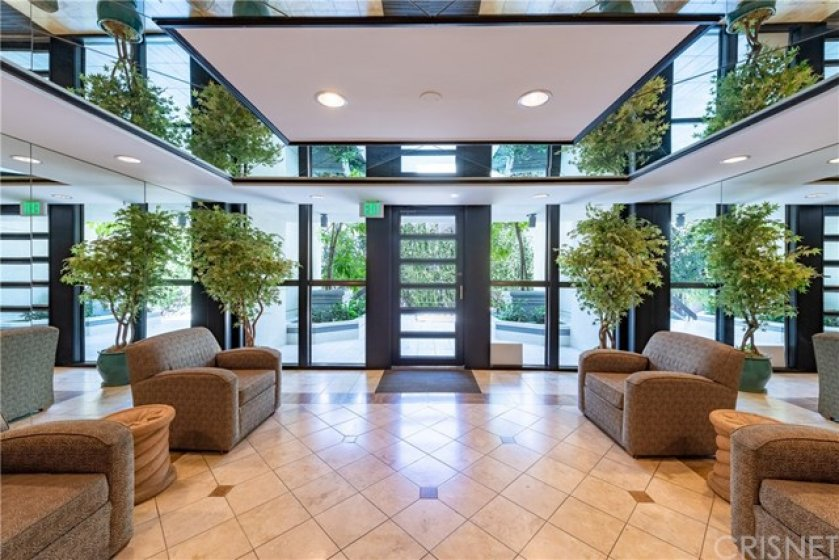 Luxurious Lobby Area Very Well Maintained. Gated & Secured Building!