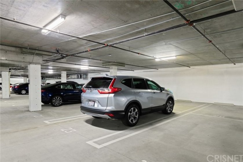 Assigned Tandem Parking, 2 Spaces