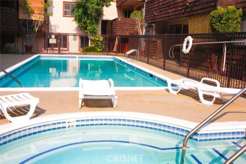 Gated Pool/Spa Common area
