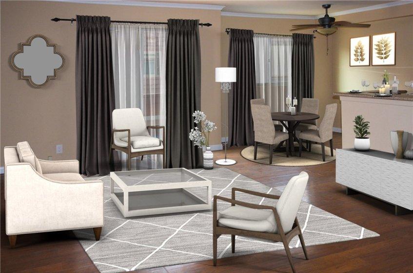 Living Room VR Staged