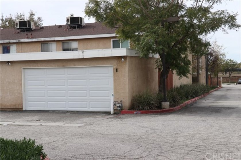 2 car garage with direct access to Patio area