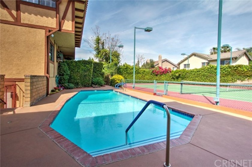 Pool and spa were re-plastered about 7 years ago by the HOA