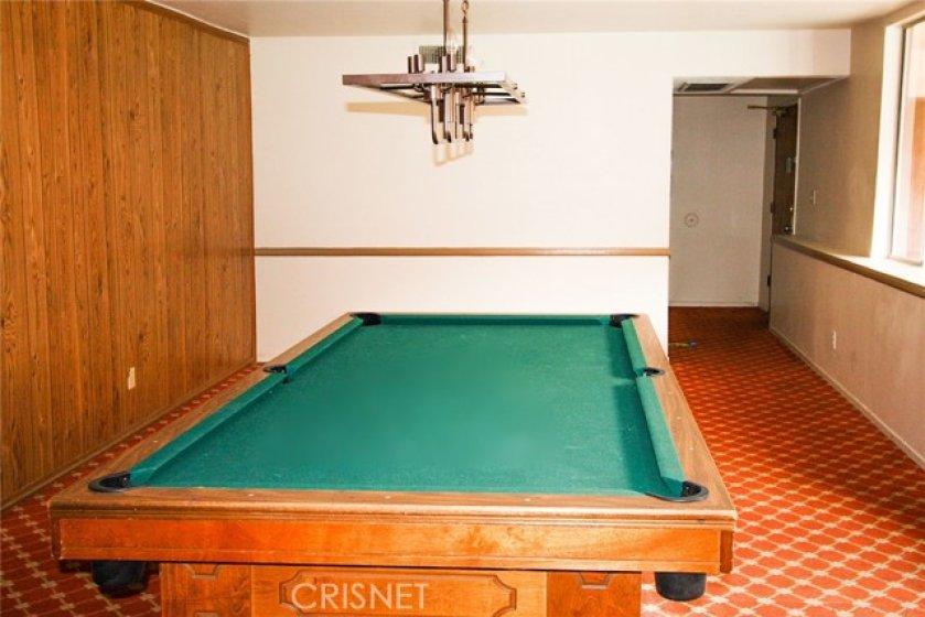 Billiards Room Common Area