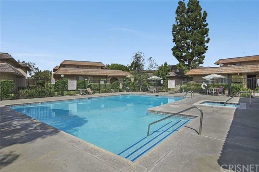 Pool, spa and recreation room