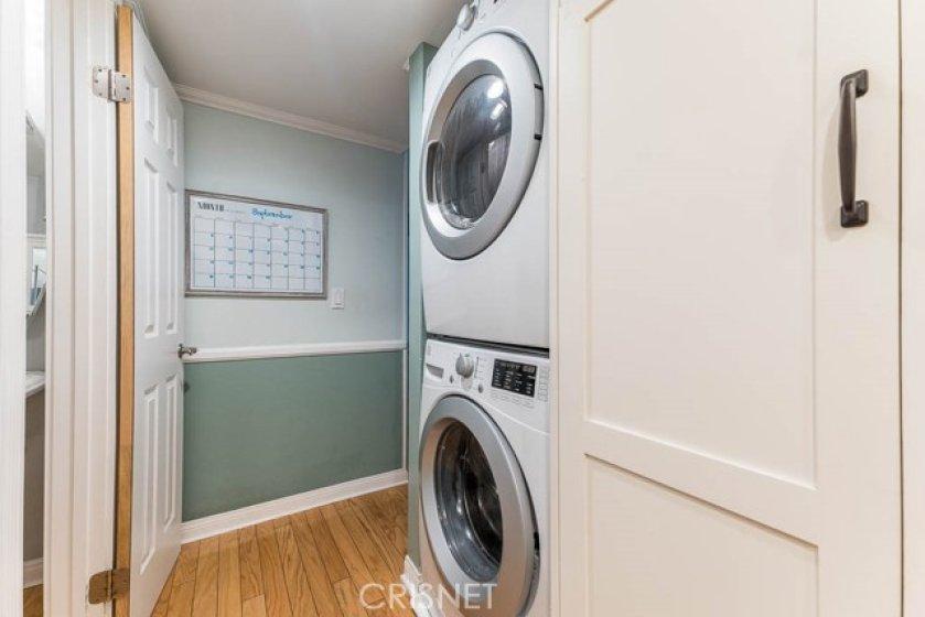 Washer/Dryer off kitchen