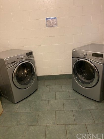 First floor washer and dryer