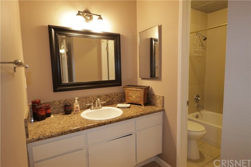 Master bathroom and sink