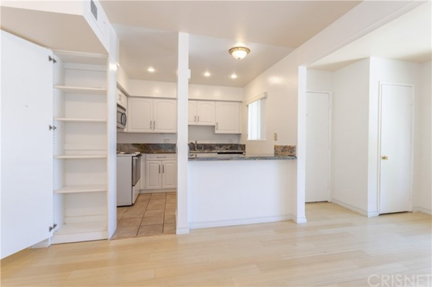 Kitchen pantry is very specious