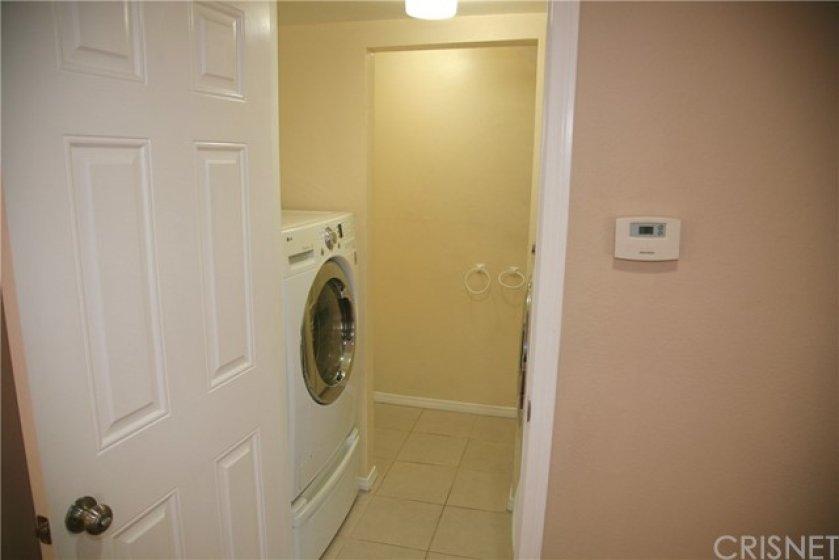 Indoor Laundry and Half Bathroom