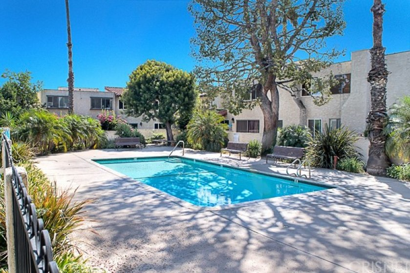 Relaxing pool & pool area gated for your safety with a nice natural atmosphere. Part of the HOA amenities, water is included on the HOA as well as maintenance of the common areas.