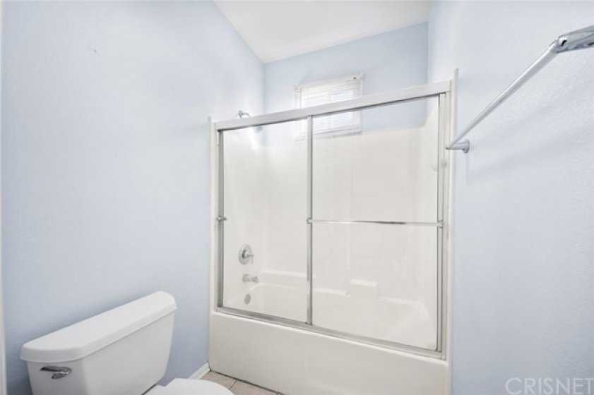 Secondary bedroom ensuite bath and large closet