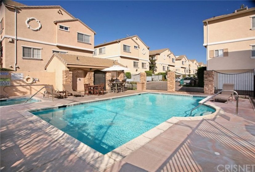 You will spend countless hours enjoying the sparkling community pool and spa.