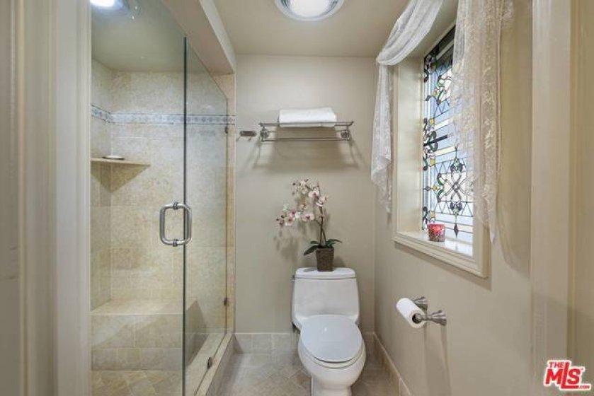 Updated toilet room