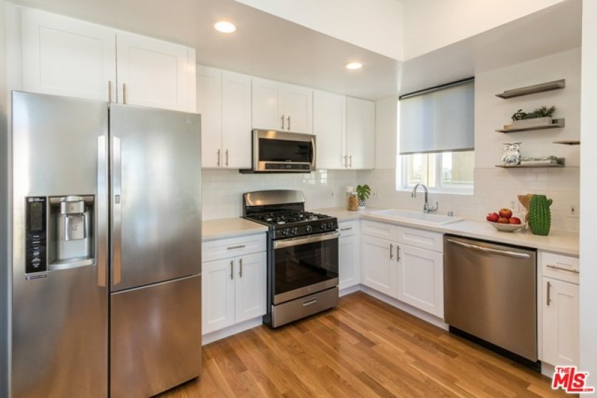 totally remodeled kitchen