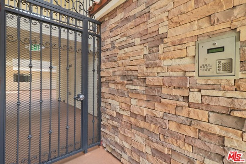 Gated secure acce