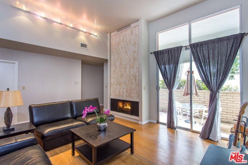 Fireplace Living Room Patio