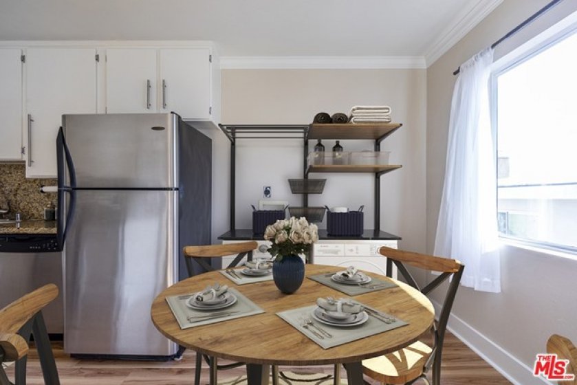 Dining Area & Laundry