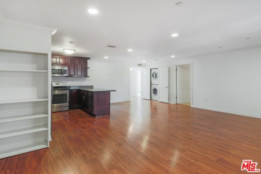 Spacious open-concept living room
