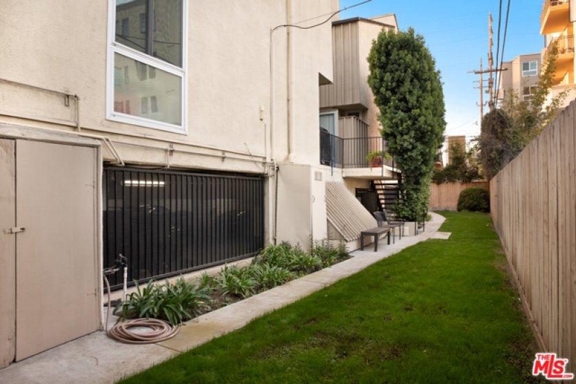 Backyard/ Commom area