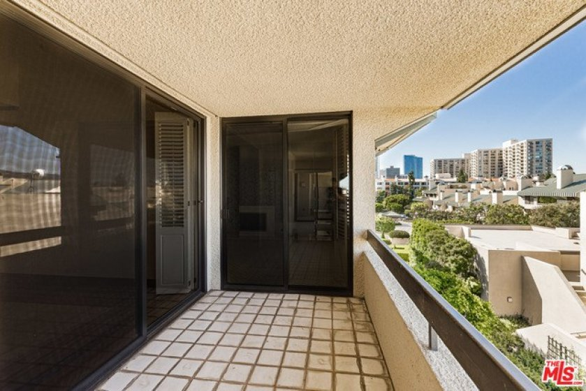 One of the many balconies to enjoy with great views.