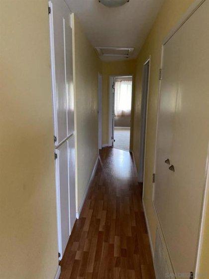 Hallway leading to Bedrooms.
