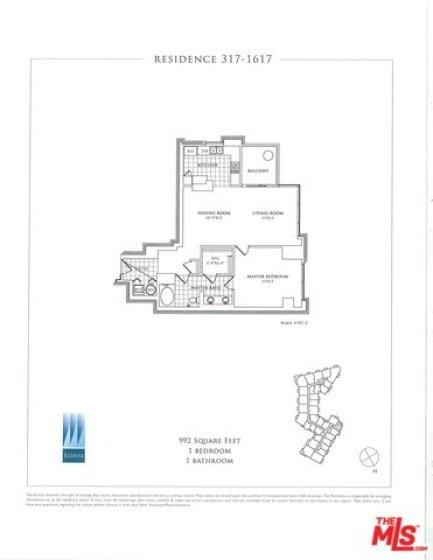 Floorplan of e unit