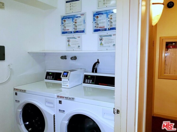 Washers and Dryers on each floor