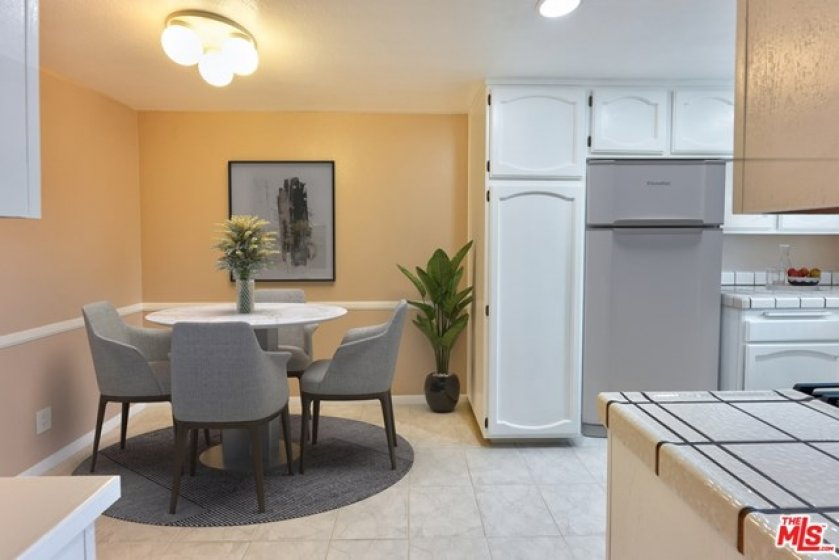 Eat-in Kitchen - Virtually Staged