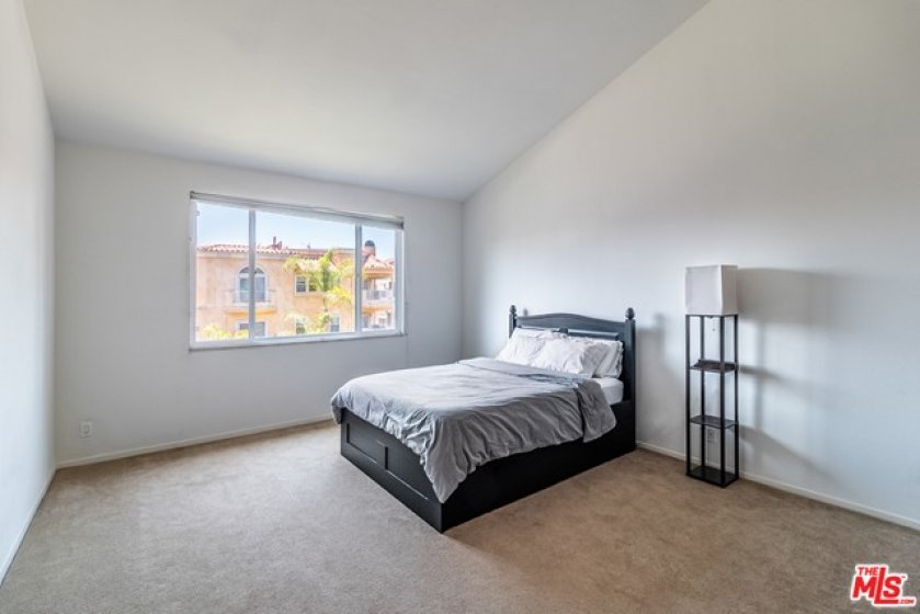 Master Bedroom Overlooking Camden Ave (Larger in Person)