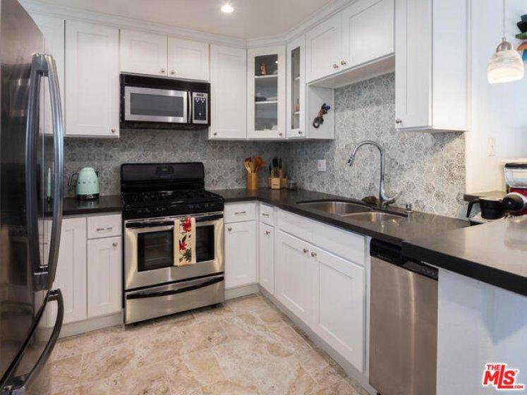 Updated cook's kitchen