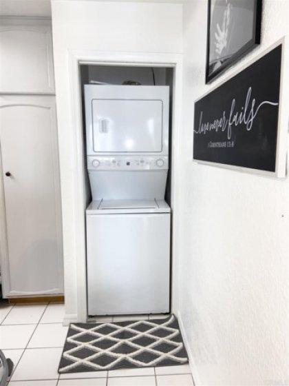located next to kitchen