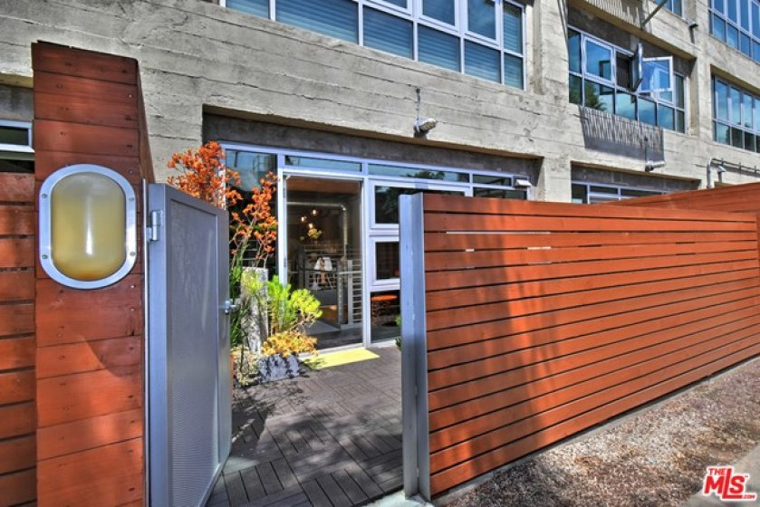 e coveted private outdoor patio...